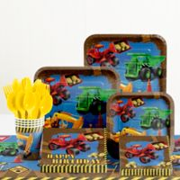 Creative Converting™ 81-Piece Under Construction Birthday Party Tableware Kit