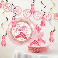 Creative Converting™ 8-Piece Twinkle Toes Birthday Party Décor Kit
