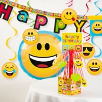 Creative Converting™ 8-Piece Show Your Emojions Birthday Party Décor Kit