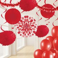 Creative Converting™ 32-Piece Classic Party Décor Kit in Red