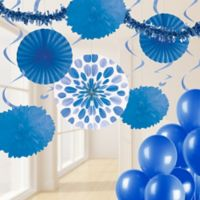 Creative Converting™ 32-Piece Classic Party Décor Kit in Cobalt Blue