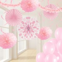 Creative Converting™ 32-Piece Classic Party Décor Kit in Pink