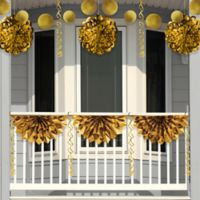 Creative Converting™ 4-Piece Foil Decorating Kit in Gold