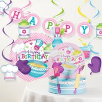 Creative Converting™ 8-Piece Little Chef Birthday Party Décor Kit