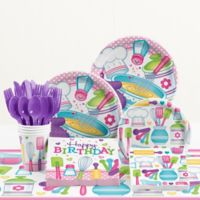Creative Converting™ 81-Piece Little Chef Birthday Party Tableware Kit