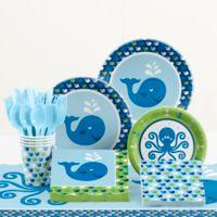 Creative Converting Ocean Preppy Birthday 81-Piece Table Kit