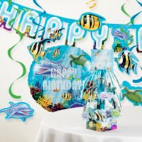 Creative Converting™ 8-Piece Ocean Birthday Party Décor Kit