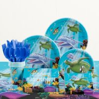 Creative Converting™ 81-Piece Ocean Birthday Party Tableware Kit