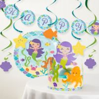 Creative Converting™ Mermaid Friends Birthday Party Decorations Kit