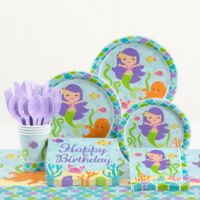 Creative Converting™ Mermaid Friends Birthday Party Supplies Kit