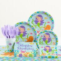 Creative Converting™ Mermaid Friends Birthday Party Supplies Kit