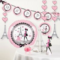 Creative Converting™ 6-Piece Party in Paris Birthday Décor Kit