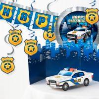 Creative Converting Police Party Birthday 6-Piece Decor Kit