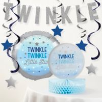 Creative Converting™ 8-Piece One Little Star Boy 1st Birthday Party Decor Kit