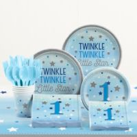 Creative Converting™ 81-Piece One Little Star Boy 1st Birthday Party Tableware Kit