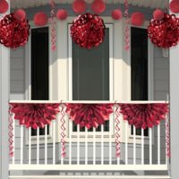 Creative Converting 4-Piece Foil Party Decorations in Red