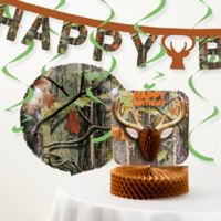 Creative Converting™ 13-Piece Hunting Camo Birthday Party Décor Kit