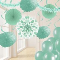 Creative Converting 32-Piece Decorating Kit in Fresh Mint Green