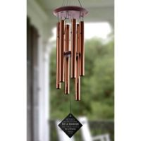 Loving Words To Her Wind Chimes