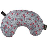 bucky® Minnie Compact Round Neck Pillow with Snap and Go in Trellis