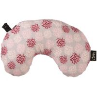 bucky® Minnie Compact Round Neck Pillow with Snap and Go in Ruby Pop