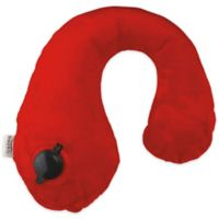 Gusto Travel Neck Pillow in Red