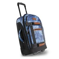 Original Penguin® 21-Inch Carry-On Rolling Duffel Bag in Blue