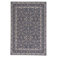 Capel Rugs Municipality Ziegler 3-Foot 11-Inch x 5-Foot 6-Inch Area Rug in Dark Blue