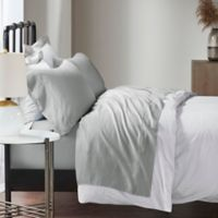 Madison Park 1500-Thread-Count Cotton Blend Queen Sheet Set in Grey