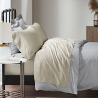 Madison Park 1500-Thread-Count Cotton Blend Queen Sheet Set in Ivory