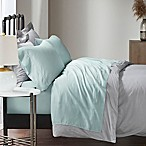 Madison Park 1500-Thread-Count Cotton Blend Queen Sheet Set in Seafoam
