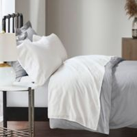 Madison Park 1500-Thread-Count Cotton Blend Queen Sheet Set in White