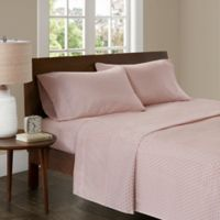 Madison Park 3M Microcell Printed Twin XL Sheet Set in Blush