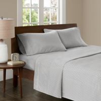 Madison Park 3M Microcell Printed Full Sheet Set in Grey
