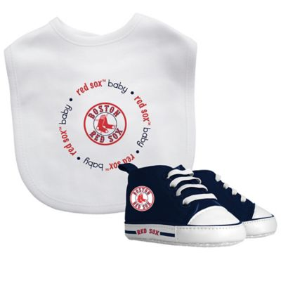 baby fanatic mlb boston red sox 2 piece gift set - Boston Red Sox Bath Accessories
