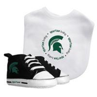 Baby Fanatic Michigan State University 2-Piece Gift Set