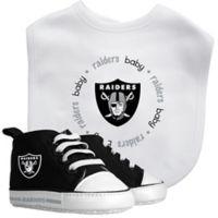 Baby Fanatic NFL Oakland Raiders 2-Piece Gift Set