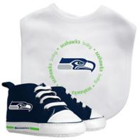 Baby Fanatic NFL Seattle Seahawks 2-Piece Gift Set