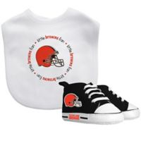 Baby Fanatic NFL Cleveland Browns 2-Piece Gift Set