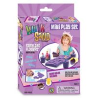 Be Good Company KwikSand Fairyland Flowers Mini Play Set
