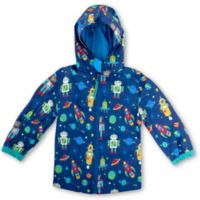 Stephen Joseph® Size 4T Robot Raincoat