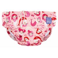 Bambino Mio® Size 1-2Y Mermaid Reusable Diaper in Pink