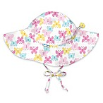 i play.® Newborn Butterfly Brim Sun Hat in White