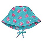 i play.® Newborn Angelfish Brim Sun Hat in Aqua