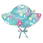 i play.® Infant Shellflower Brim Sun Hat in Aqua