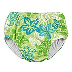 I Play. ® Size 6M Turtle Snap Swim Diaper in Green