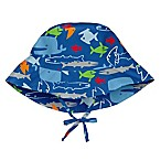 i play.® Newborn Fish Bucket Sun Hat in Royal Blue
