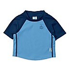 i play.® Size 6M Color Block Short Sleeve Rash Guard in Blue/Navy