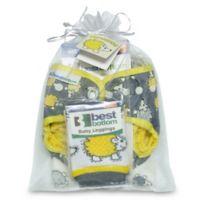 Best Bottom 3-Piece Hedgehog Diapers Gift Set