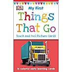 Penguin Random House My 1st Touch & Feel Things That Go Picture Cards